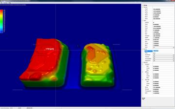 Capacitor 3D Aproximation im JetColor -Farbraum
